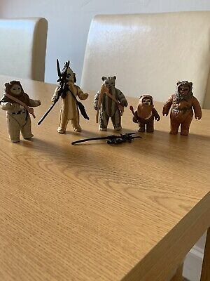 star wars Ewoks vintage action figures job lot