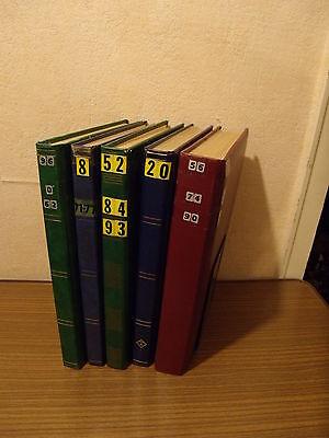 A4 Briefmarken Alben voll mit bestimmt tausenden Briefmarken min.100 Seiten voll
