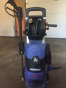 Simoniz Pressure Washer 2000 PSI