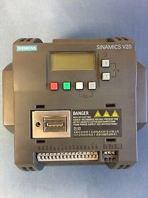 Siemens Sinamics V20 6sl3210-5be24-0uv0 Inverter Great Condition Tested