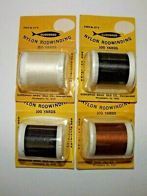 Size 00 Steel Gray #499 SILK THREAD~925 Yards Spool Utica//Gudebrod Rod Wrapping