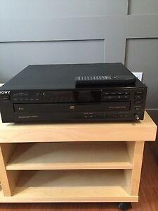 Lecteur 5 cd de musique Sony
