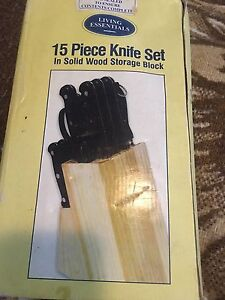 Knife set never been used Mount Gravatt Brisbane South East Preview