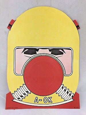 1960 Halloween (VINTAGE 1950'S OR 1960'S HALLOWEEN PAPER MASK PREMIUM ATOMIC SPACE AGE)