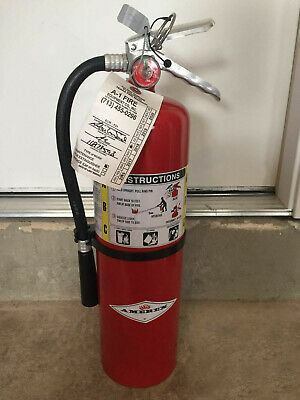 Amerex B500 5 Lb Dry Chemical Fire Extinguisher Rechargeable Abc Fire 2a10bc