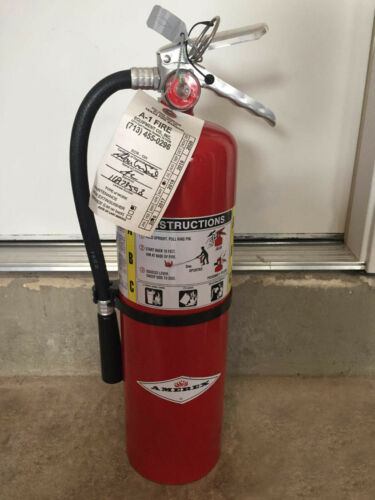 Amerex B500 5 LB Dry Chemical Fire Extinguisher Rechargeable ABC Fire 2A:10B:C