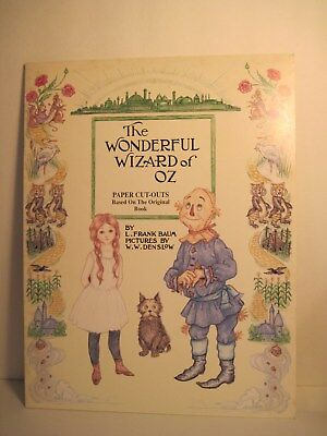 THE WONDERFUL WIZARD OF OZ PAPER CUT-OUTS