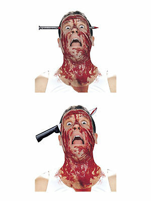 Haarreif Halloween Blutig Accessoire Kostüm Scherzartikel