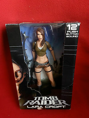 "Tomb Raider - Lara Croft - 30cm ""12"" Actionfigur mit Sound Neca"