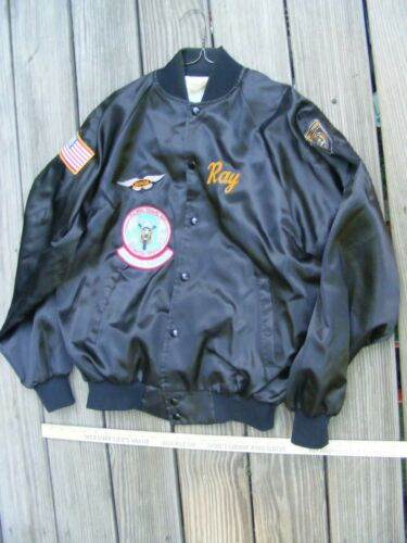 Vintage Honda GoldWing Touring Assn Club Patch Motorcycle Jacket,Large