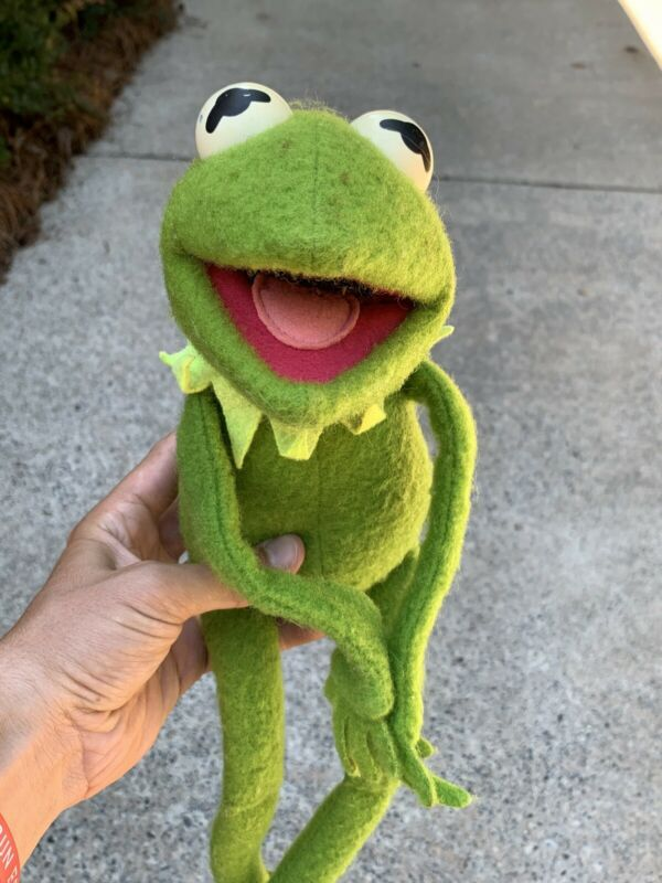 1976 Vintage Kermit The Frog Plush