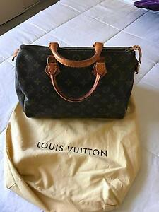 Authentic Louis Vuitton Speedy 30 Monogram c/w Lock and Key Como South Perth Area Preview