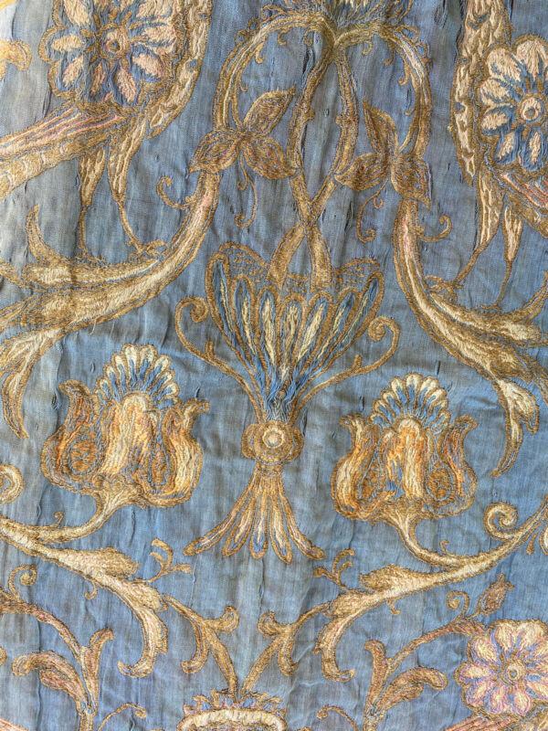 Antique Textile Jacquard  Damask 17-18th C