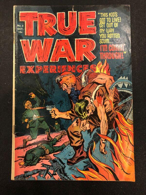 True War Experiences #3 (1952, Harvey)