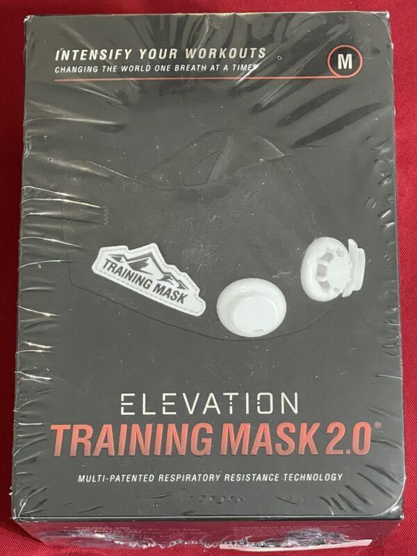 ELEVATION Training Mask 2.0 Athletic Exercise Workout - MEDIUM = 150 - 249 lbs.