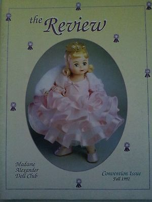 The Review Official Publication Madame Alexander Doll Club Catalog Fall 1992