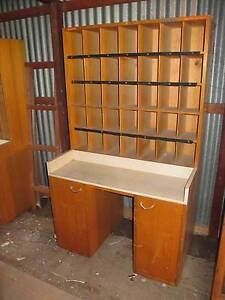 Vintage Pigeon Hole Cupboard Industrial Windsor Gardens Port Adelaide Area Preview