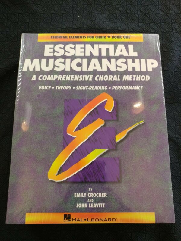 Essential Musicianship A Comprehensive Choral Method Book 1 Music Book