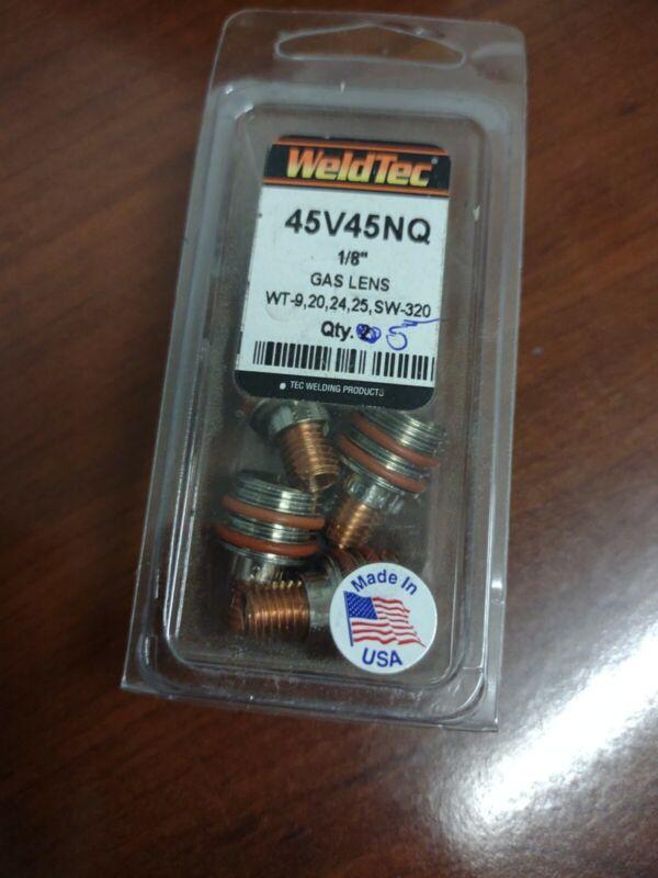 "WeldTec 45V45NQ 1/8"" Gas Lrns"