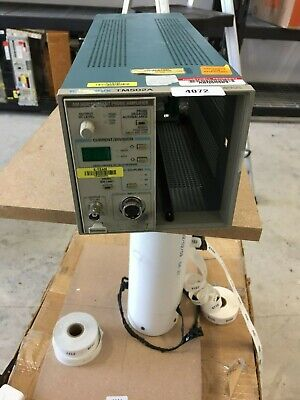 Tektronix Tm502a Power Mainframe 2-slot Chassis W Am503b Current Probe Amplifie