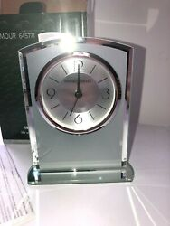 New HOWARD MILLER DESK TABLE MANTLE CLOCK - GLAMOUR 645711 Modern Look NIB