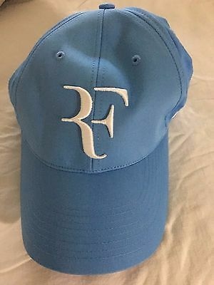 RARE Roger Federer Nike North Carolina Blue Cap Hat RF    8d6f5ba65602