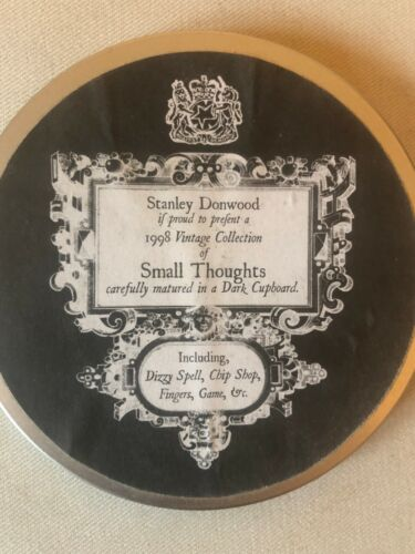 """Stanley Donwood """"Small Thoughts"""" - VERY rare and collectible!"""