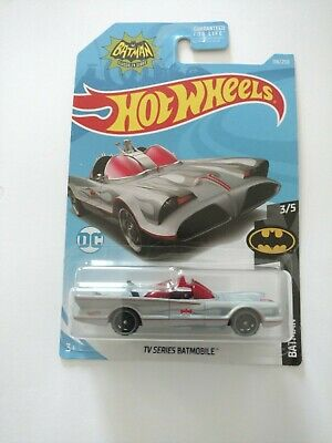 Brand New On Card TV Series Batmobile - Hot Wheels 2019 Mainline #118