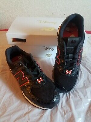 BNIB Disney x New Balance Minnie Mouse Shoes Black/Red GC574M2 size 5y