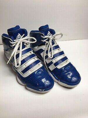 outlet store 25108 85f4e ADIDAS TS Supernatural Commander Dwight Howard Men s 13 Blue HighTop Shoes  eb19