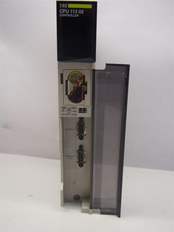 AEG Modicon 140 CPU11302 CPU 256K 1xMB+ Controller Module