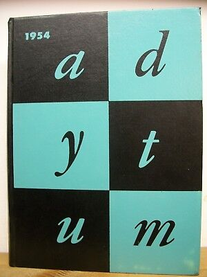 1954 Adytum Denison University (Granville, OH) Yearbook (Alum Richard Lugar)
