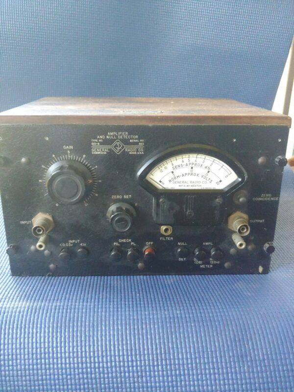 General Radio Amplifier And Null