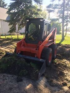 Bobcat/ SkidSteer Excavation and Landscaping