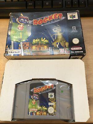 Rocket Robot On Wheels Nintendo N64 PAL Boxed No Instructions