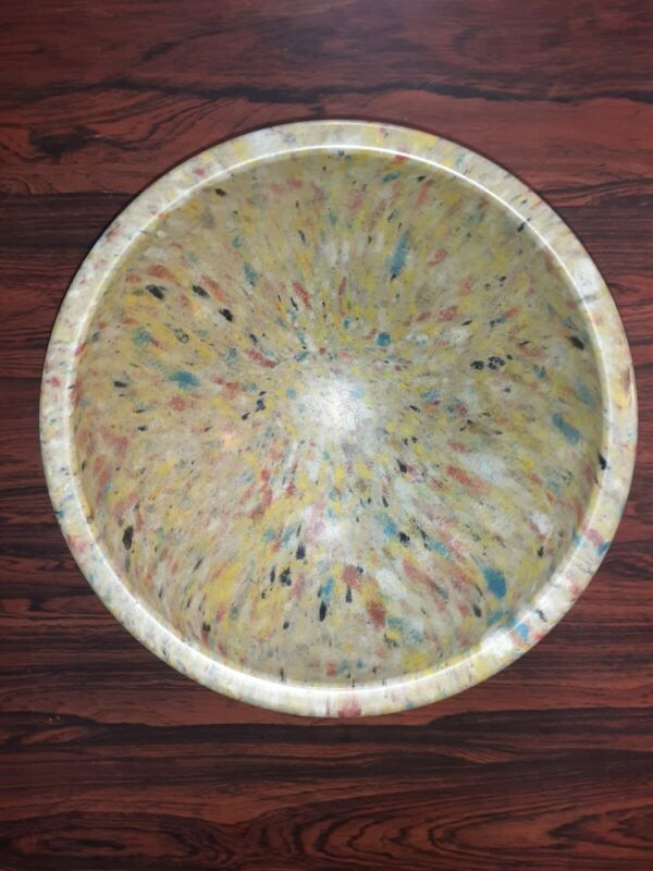 """Vintage Texas Ware Spatter Confetti Mixing Bowl #118 10"""""""