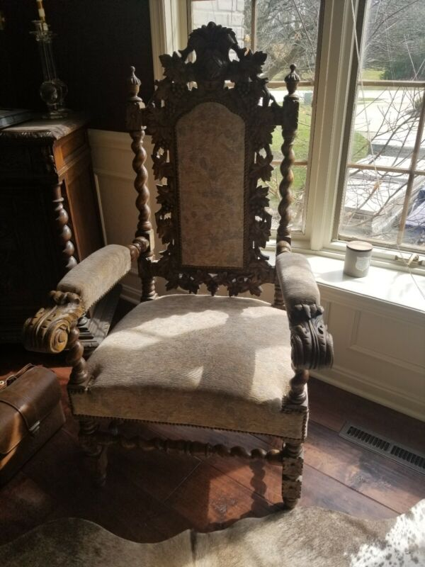 French gothic chairs