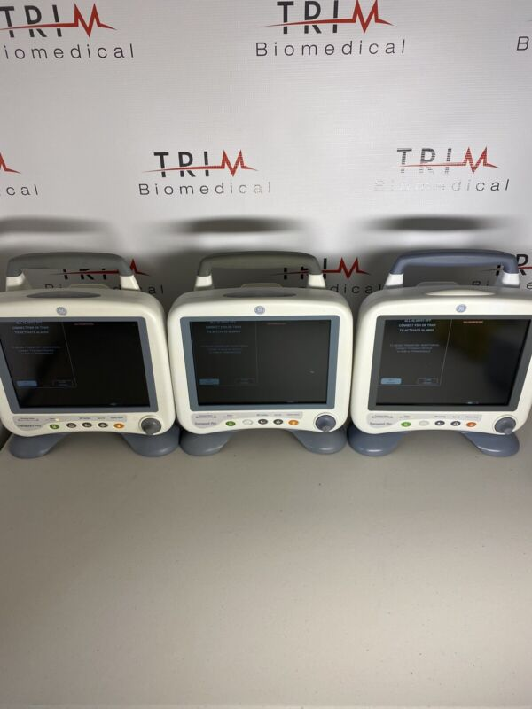 GE Healthcare TRANSPORT PRO Patient Monitor Clean