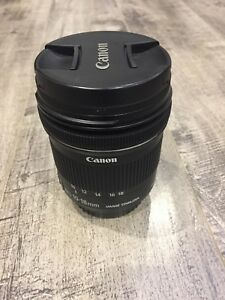 Canon EF-S 10-18mm IS STM lens f/4.5-5.6