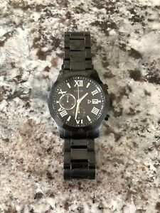 Black classic style guess watch great condition