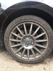 17 inch Ford rims & tires
