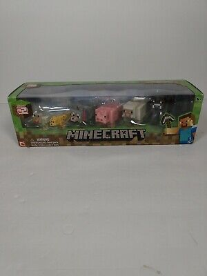 Minecraft Overworld Articulated Animal Mobs Figures. *Series #2 NEW!