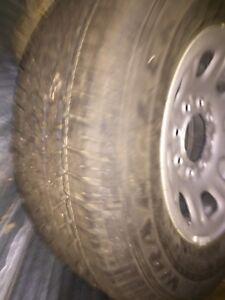 New tire  off 2015 gmc spare