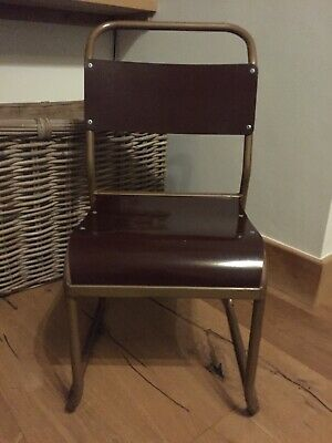 Children's Original Nest-a-bye Bamco Stacking Chairs. Bakelite And Steel Tube.