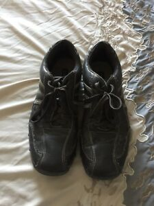 Size 13 Brown Square toe Shoes