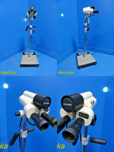 Gynex CO1000 9X Magnification Stereoscopic Colposcope W/ Wheel base Stand~ 18311