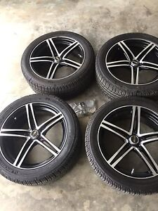 """18"""" Alloy wheels with tires"""