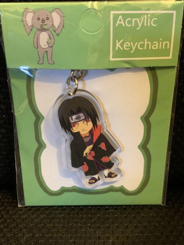 Naruto Anime Akatski Itachi Keychain
