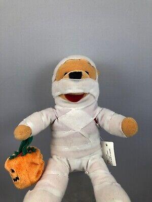 Bean Bag Costume (Disney Store Winnie The Pooh Mummy Halloween Costume Pumpkin Mini Bean Bag)