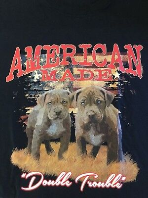 Double Trouble Pit Bull Size 2 X Large 7 X Large Tank Tops